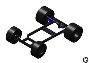 fahrende Bierkiste virtuelles Rolling Chassis