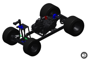 fahrende Bierkiste CAD-Modell