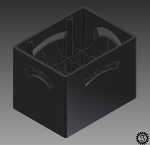 Bierkiste CAD
