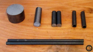 fahrende Bierkiste Stahlteile rund