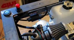 fahrende Bierkiste elektrische Bauteile