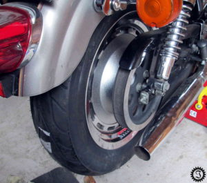 Sportster Reifenwechsel