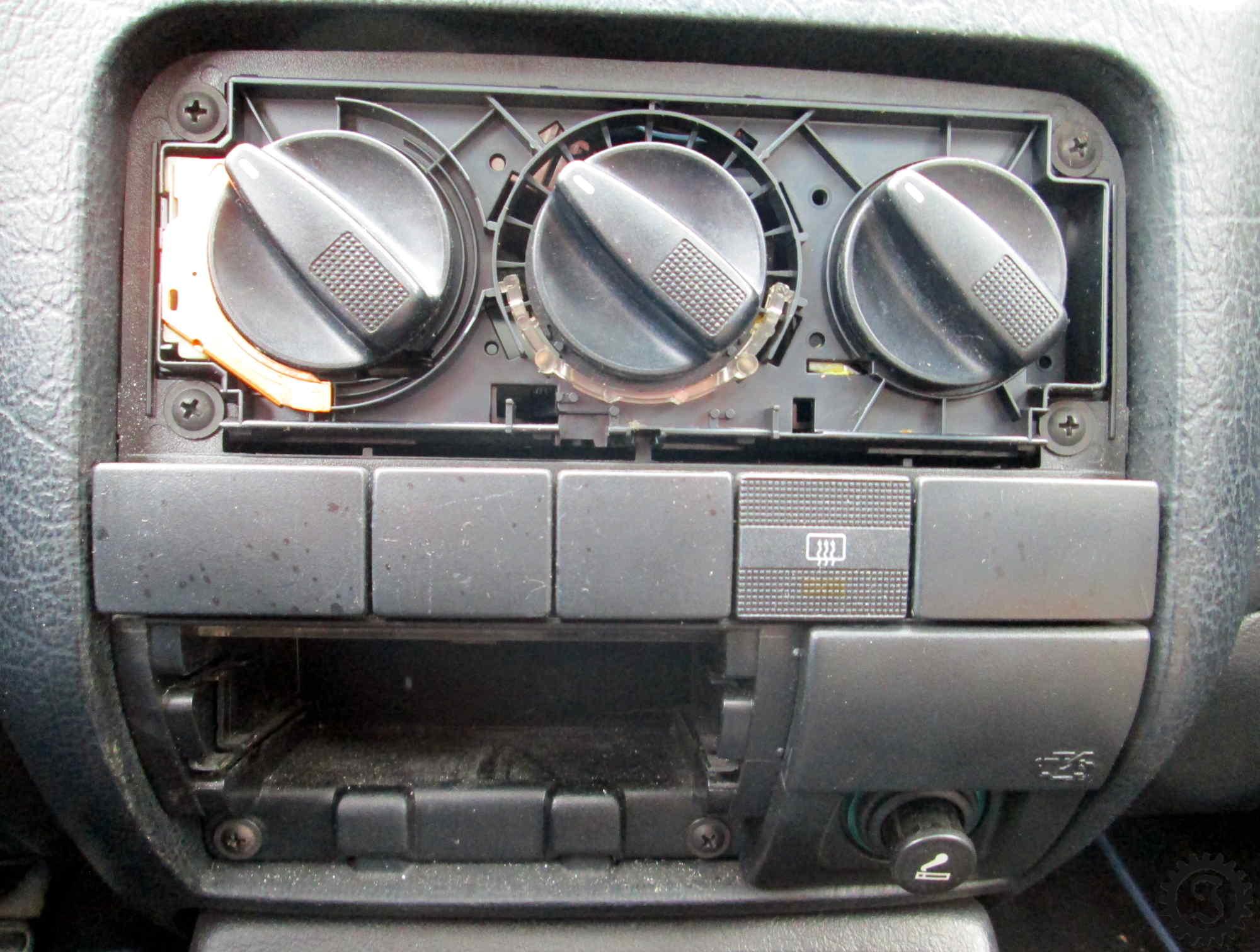 Bekannt Heizungsreglerbeleuchtung - Golf III - Jones' Werkstatt GF51