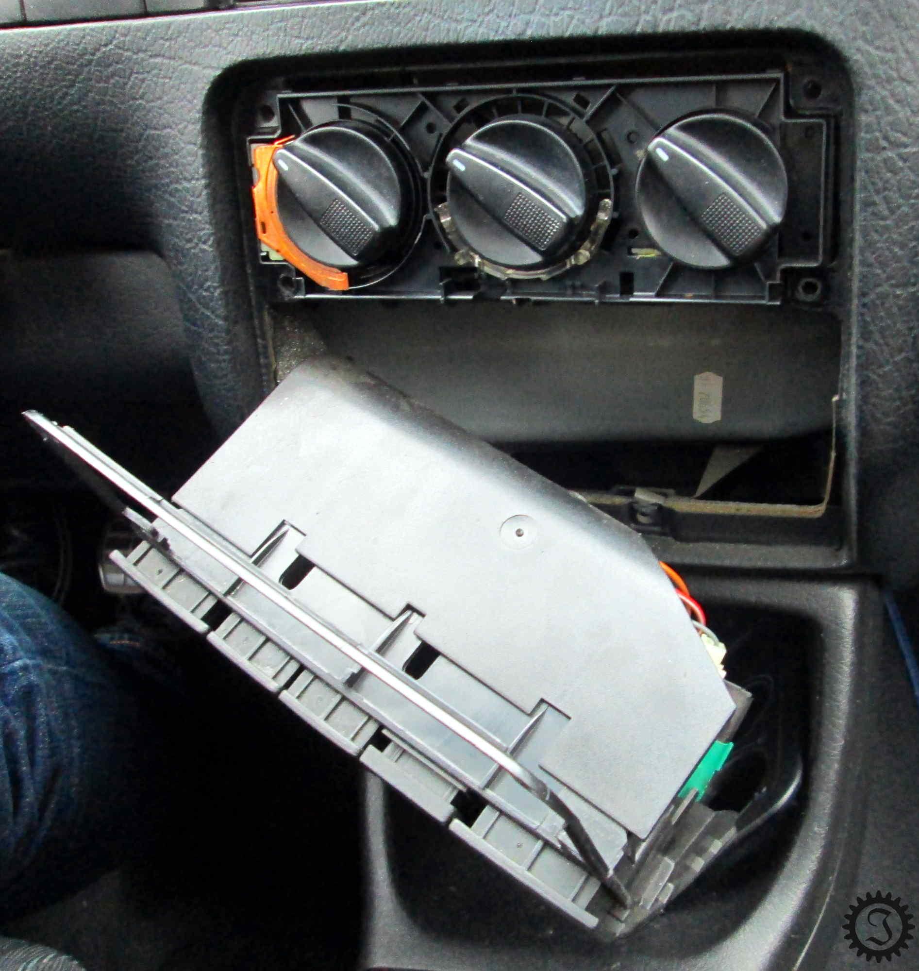 Gut gemocht Heizungsreglerbeleuchtung - Golf III - Jones' Werkstatt HD29