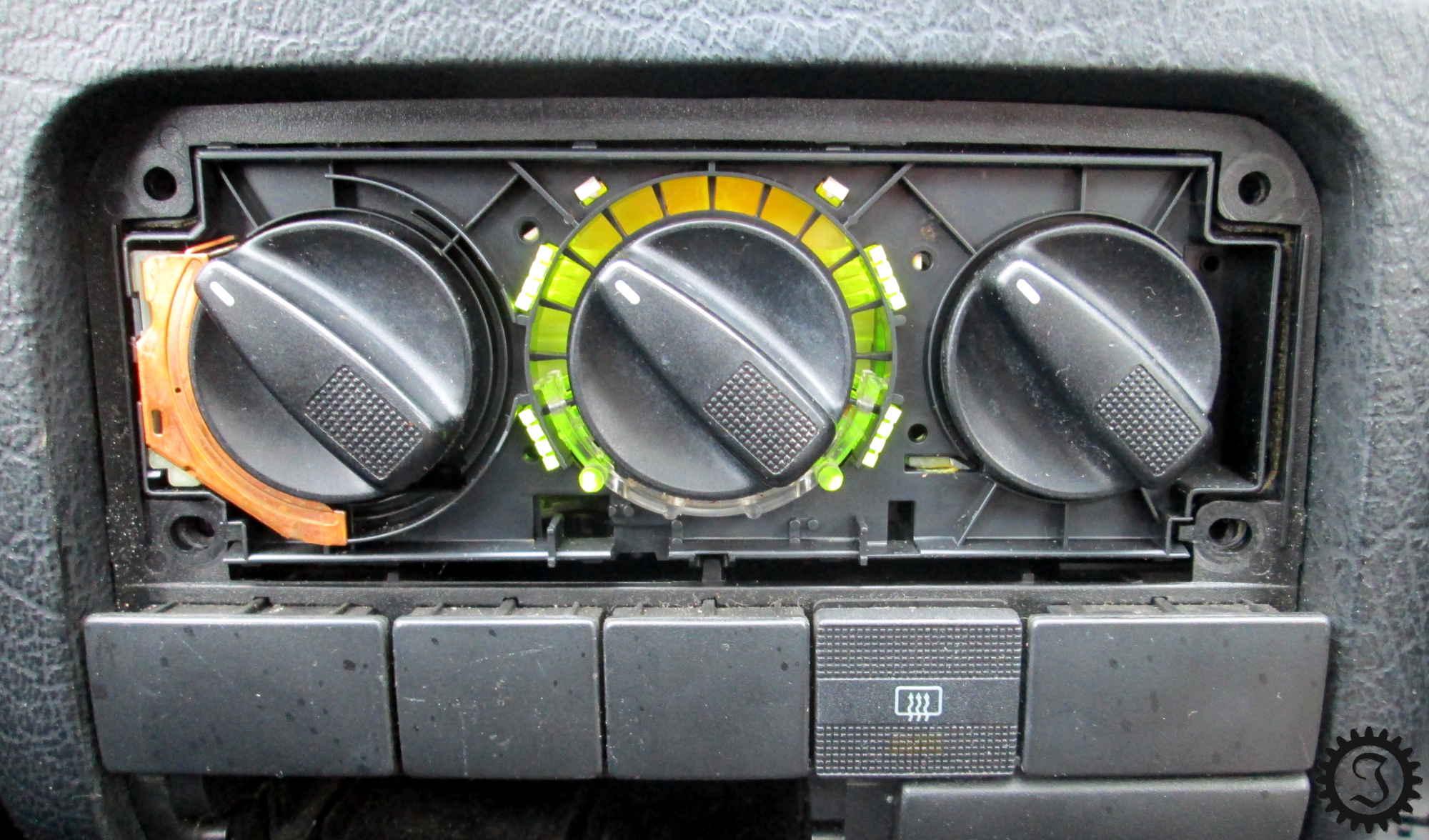 Häufig Heizungsreglerbeleuchtung - Golf III - Jones' Werkstatt SL24